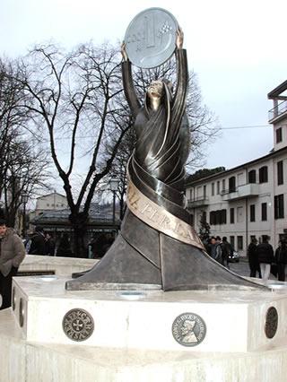 Monumento alla Lira a Rieti