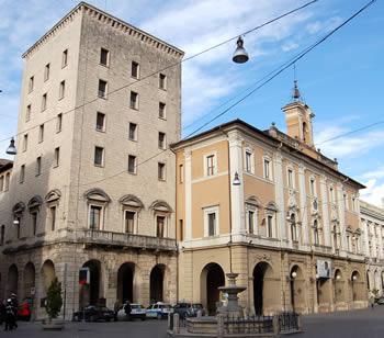 Palazzo del Municipio a Rieti