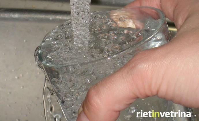 Rieti, interruzione servizio idrico