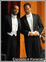 Alex Esposito e Mariusz Kwiecien