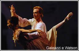 Mara Galeazzi ed Edward Watson