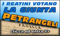 I reatini votano la giunta Petrangeli