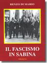 Rieti, Renzo di Mario Il fascismo in Sabina