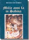 Rieti, Di Mario Mille anni fa in Sabina