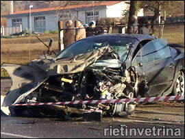 Incidente in via Angelo Maria Ricci