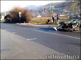 Incidente in via A.M. Ricci