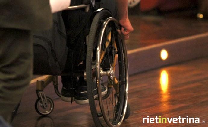 Disabile nelle scuole di Rieti