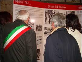 Mostra Caduta Muro Berlino a Rieti