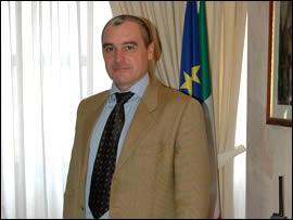 Il vice questore di Rieti Domenico Ponziani