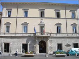 Palazzo Dosi a Rieti