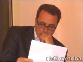 Fabio Melilli, Presidente della Provincia di Rieti