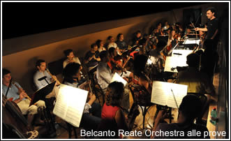 Reate Festival MMX - Belcanto Reate Orchestra alle prove
