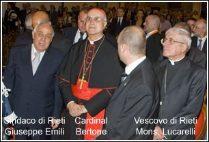 Reate Festival MMX - Cardinal Bertone