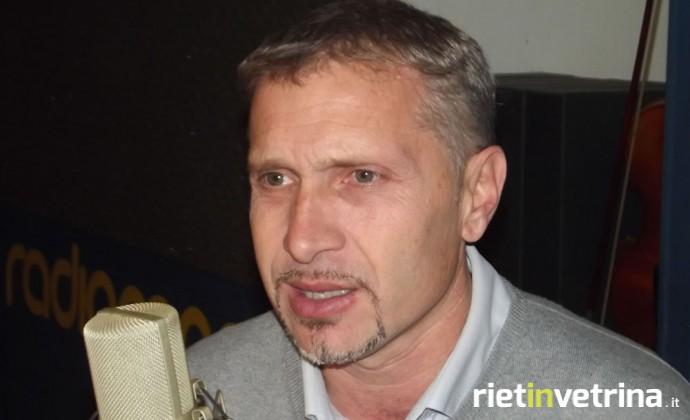 Luigi D'Antonio, Fiom CGIL Rieti
