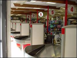 Supermercato a Rieti