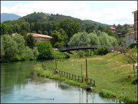 Rieti, fiume Velino