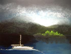 "PLAguzzi Rieti ""L'alba al lago"""
