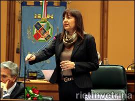 Renata Polverini, presidente Regione Lazio