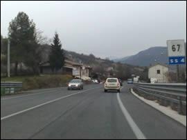 Via Salaria per Roma