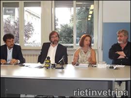 Conferenza stampa serizi sociali Comune di Rieti