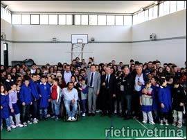 Enzo Antonacci, inaugurazione anno scolastico istituto comprensivo Borgorose