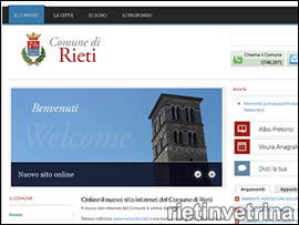 Sito Comune di Rieti