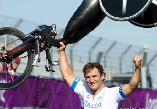 Zanardi alle paraolimpiadi di Londra 2012