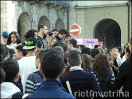 Sciopero studenti Albergiero di Rieti