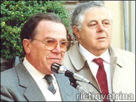 Rieti, Antonio Cipolloni e Lamberto Tabellini inaugurano la mostra mercato dell'antiquariato