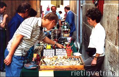 Rieti 18.05.1991 inaugurazione mostra mercato dell'antiquariato