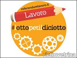 Referendum a Rieti sul lavoro
