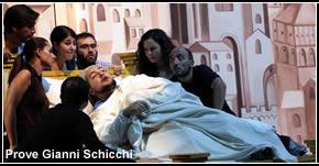 Rieti, Reate festival 2012 - Prove Gianni Schicchi