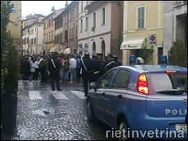 Manifestazione del 12 ottobre a Rieti
