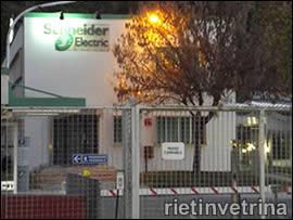 Schneider Itala, stabilimento di Rieti