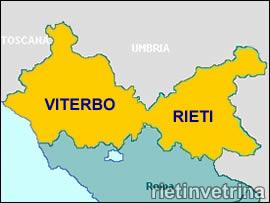 Province di Rieti e Viterbo