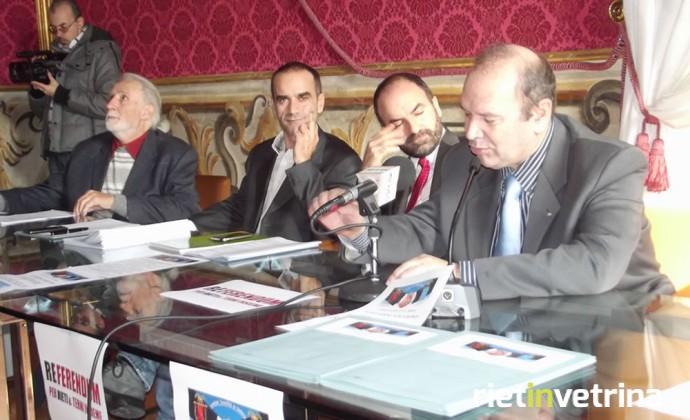 Conferenza stampa comitato Terni-Rieti