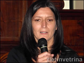 Emanuela Pariboni vice sindaco Rieti