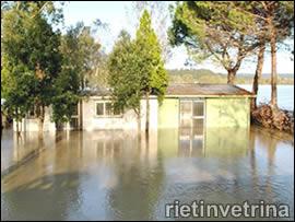 Inondazione Tevere