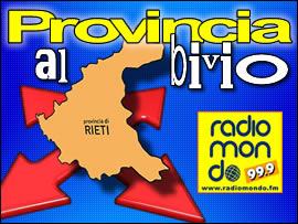 Provincia al bivio