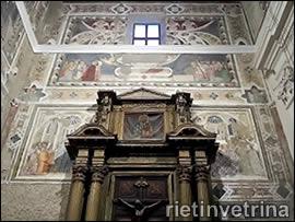 Affreschi chiesa San Francesco a Rieti