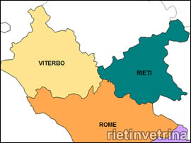 Rieti e Viterbo