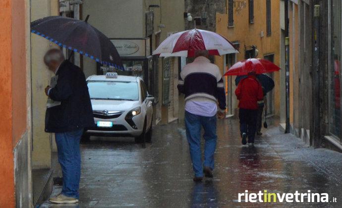 Maltempo, piogge e temporali in arrivo: allerta arancio