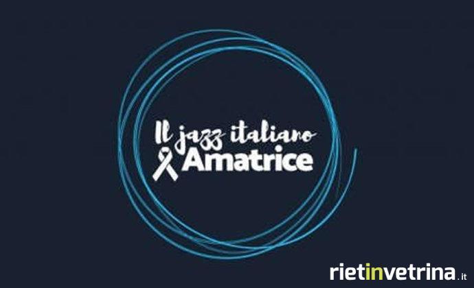 Il jazz italiano in aiuto ai terremotati