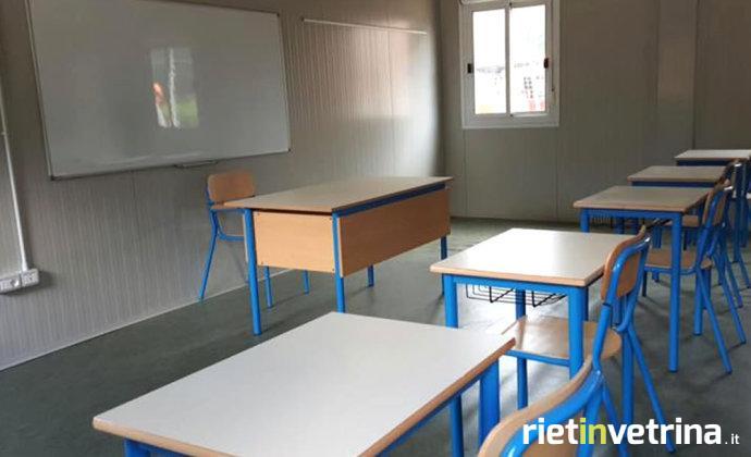 banchi_scuola_nuova_amatrice_protezione_civile_trentino