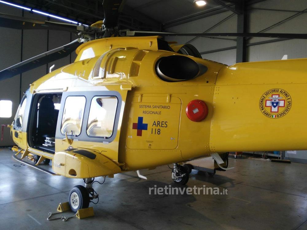 Prima Aereo O Elicottero : Sul terminillo prima mondiale per il nuovo elicottero