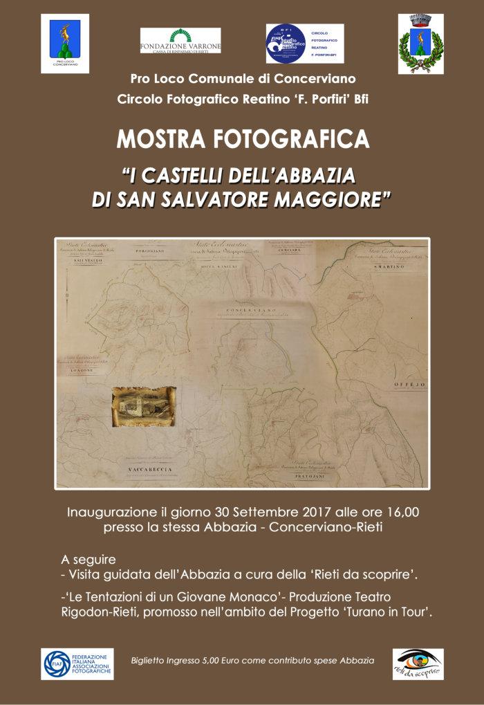 concerviano_mostra_fotografica_i_castelli_dell_abazia_di_san_salvatore_maggiore_2017_locandina