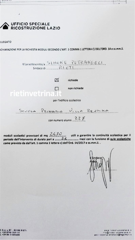 petrangeli_richiesta_moduli_provvisori_scuola_villa_reatina_1