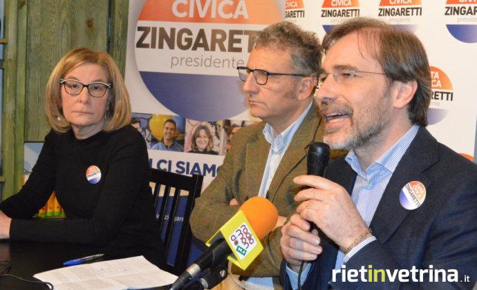 petrangeli_pitoni_presentazione_candidatura_lista_civica_zingaretti_presidente_lazio_elezioni_regionali_22_01_18
