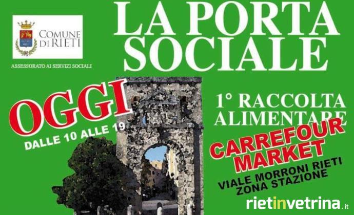locandina_raccolta_alimentare_porta_sociale_carrefour_market_viale_morroni