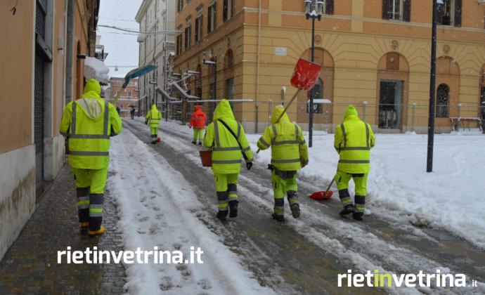Neve, protezione civile: previsti altri 10 centimetri Poi freddo e ghiaccio